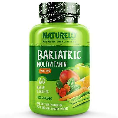 NATURELO Bariatric Multivitamin - with Natural Vitamins, Minerals, Extracts - 9