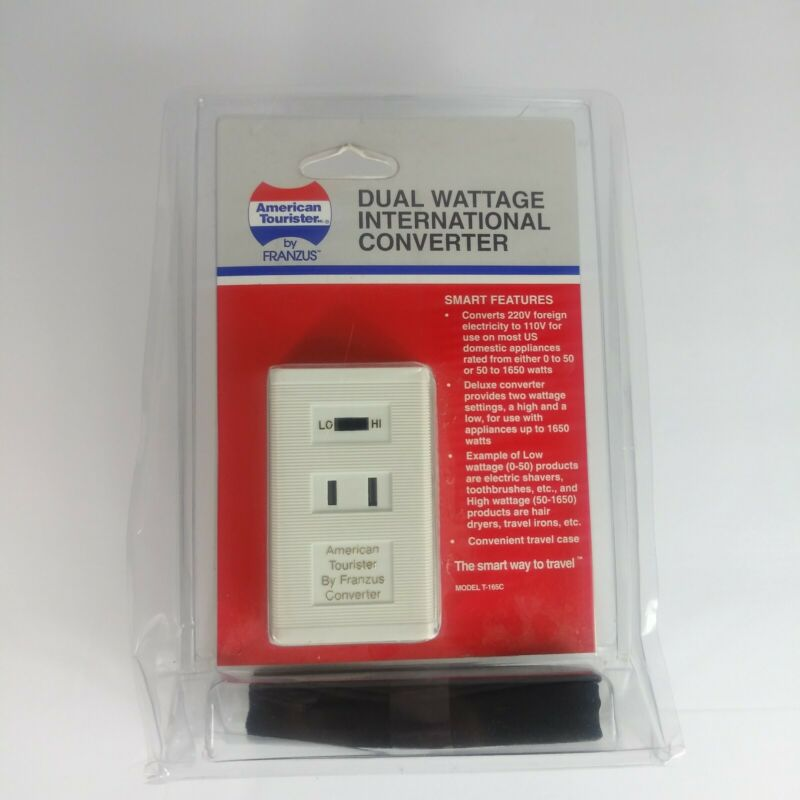 Dual Wattage International Converter