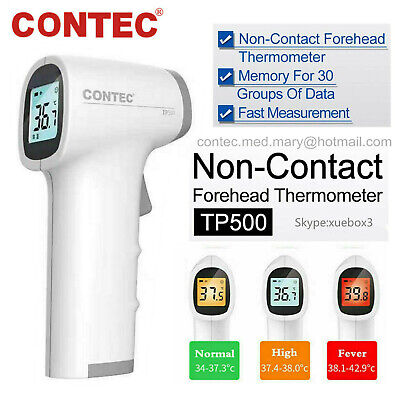 TP500  Thermometer Non-Contact Infrared Gun Digital Forehead Body Adult Baby NEW