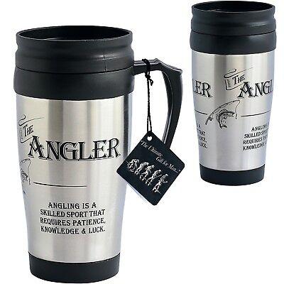 Ultimate Gift For Man 8843 Angler Fishing Travel Mug Ultimate Travel Mug