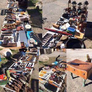 Vintage Hand Tools - Antiques & Oddities Sale - Saturday 21st
