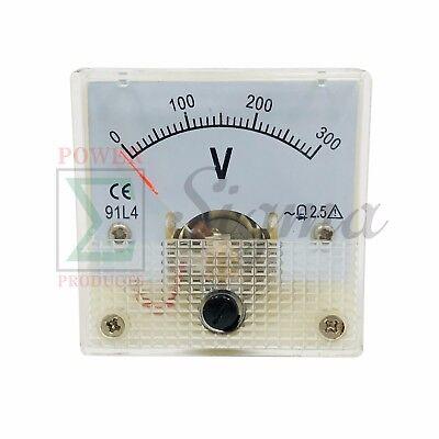 Panel Voltmeter 91l4 300v For Dek Gxi Gas Lp Cng Generator 120v 240v Ac