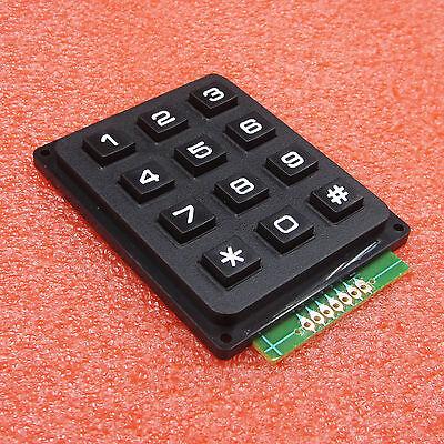 Arduino 4 x 3 Matrix Array 12 Keys 4*3 Switch Keypad Keyboard Module