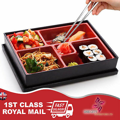 Bento Box Japanese Lunch Box Reusable Chopsticks Rice Sushi Catering UK Bento Sushi