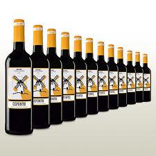 Samtiger Rotwein, trocken, Tempranillo aus Spanien, 12 Flaschen Wein