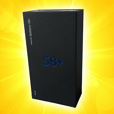 Samsung Galaxy S8 PLUS  SM-G955F -  Black Schwarz   NEU OVP versiegelt