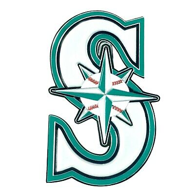Fanmats  MLB Seattle Mariners Color 3D Emblem-Car Truck RV 2-4 Day Delivery 2 Seattle Mariners Car