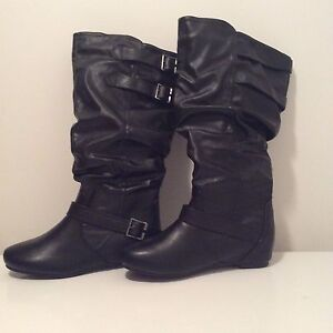 New boots for sale.