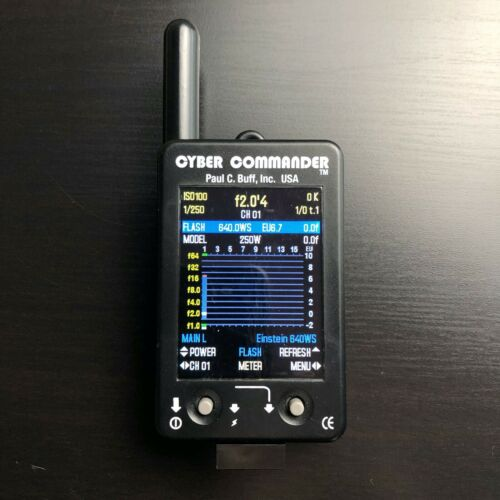 Paul C. Buff Cyber Commander Flash Remote Trigger Transmitter CC CyberCommander