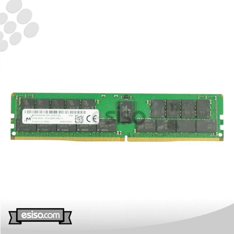MTA36ASF4G72PZ-2G6 MICRON 32GB 2RX4 PC4-2666V-R MEMORY MODULE (1X32GB)