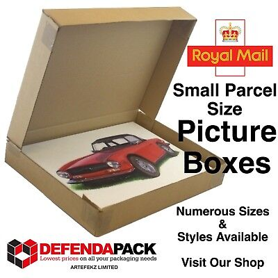 140 A3 Cardboard POSTAL PICTURE ART PAINTING Framed Prints BOXES WRAP 17x2.5x13