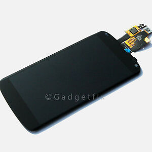 LG Google Nexus 4 E960 LCD Touch Digitizer Screen Assembly Replacement Parts OEM