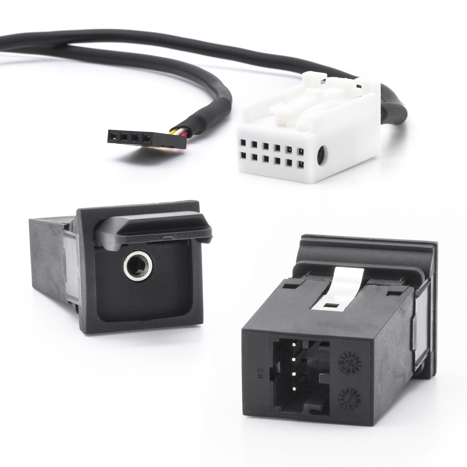 RCD510 AUX Line In Adapter Kabel KFZ Radio für VW RCD210 RCD310