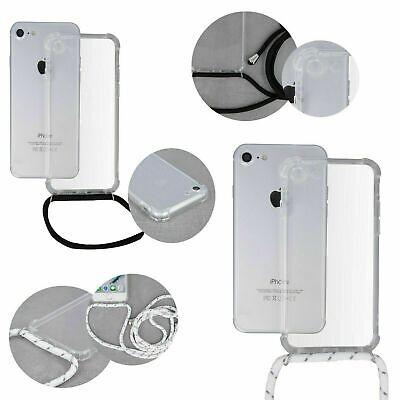 Apple iPhone 6 / 6S Handy Hülle mit Band Schutzhülle Handykette Seil Schnur Case (Apple Iphone6 Silikonhülle)