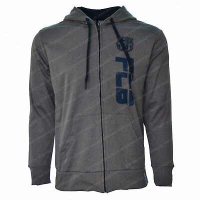 Fc Barcelona Zip Up Hoodie Jacket Track Soccer Adult All Sizes Fleece Messi 10