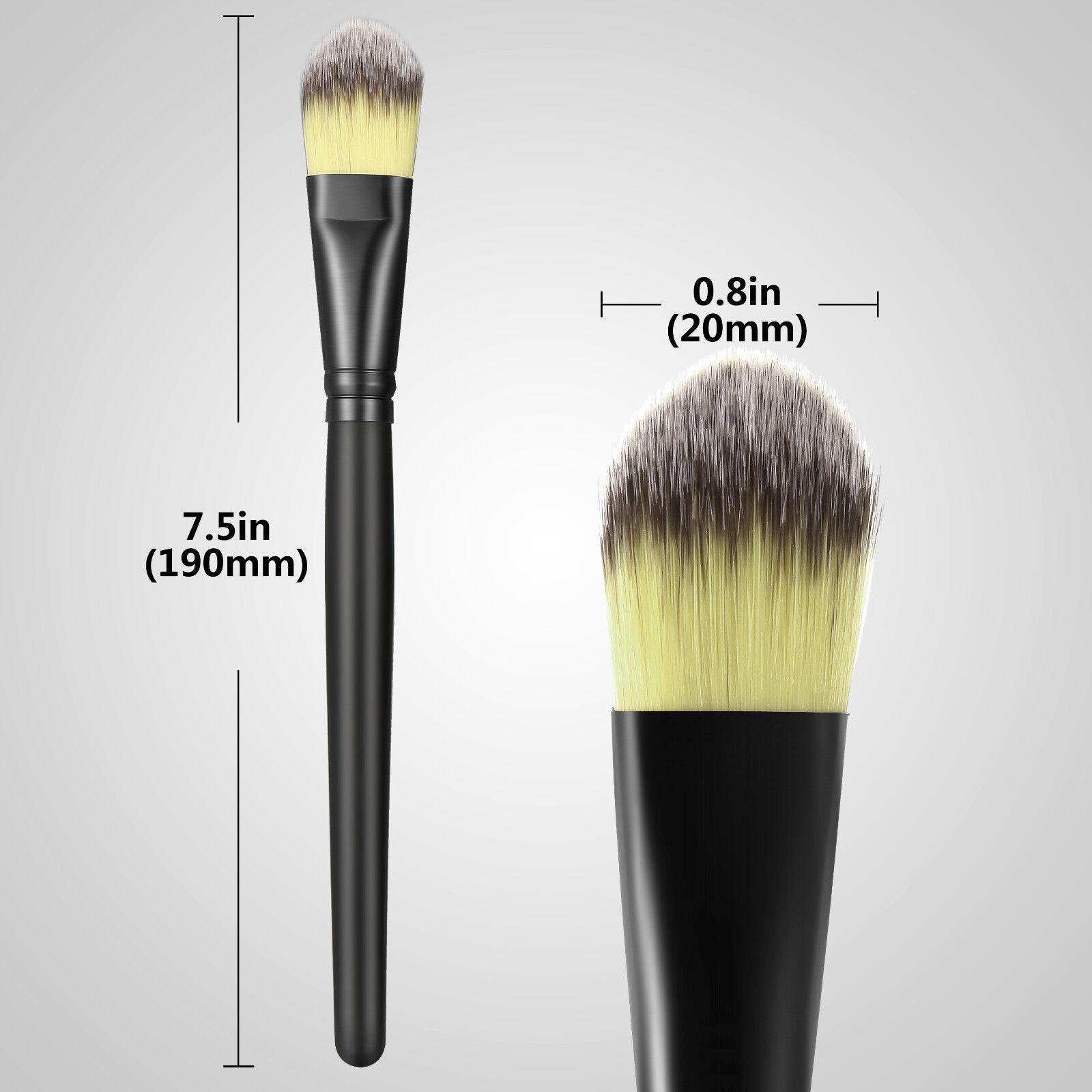 20pcs Makeup BRUSHES Kit Set Powder Foundation Eyeshadow Eyeliner Lip Brush NEW Brushes