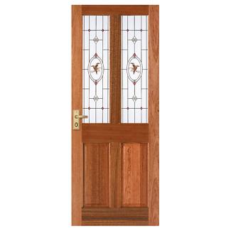 Corinthian Windsor Kookaburra Jewel Entrance Door RRP $337