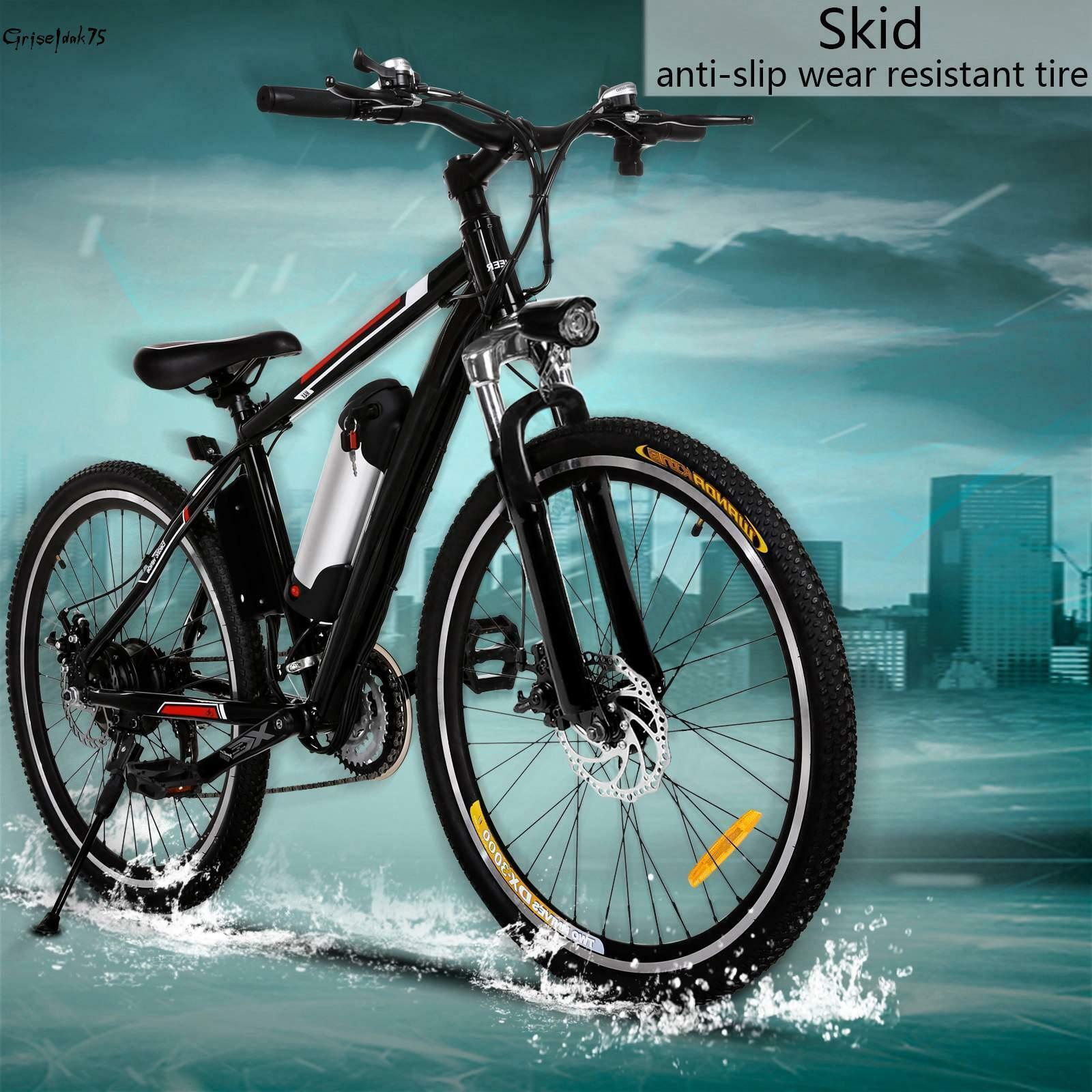 26 Zoll MountainBike E-bike Elektro-Fahrrad Fahrrad Klapprad 21 GANG 35km/h Neu