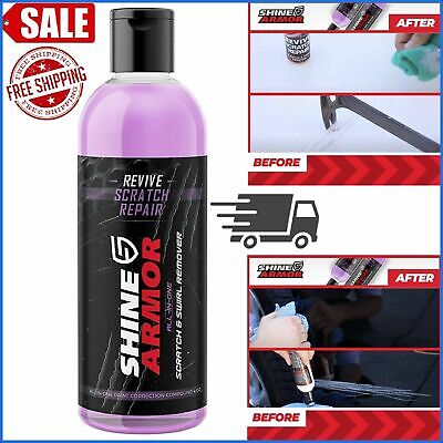 SHINE ARMOR Remover Scratch Swirl Remover polish revive Repair Protection US NEW