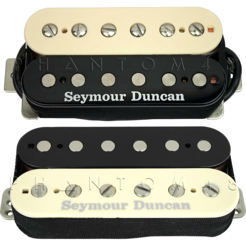 Seymour Duncan - Saturday Night Special - Guitar Humbucker Pickup Set - ZEBRA