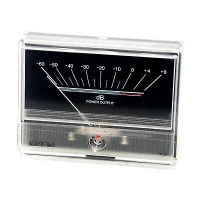 Denon Vu Panel Meter Db Level Audio Power Amplifier Chassis Tn90 W Backlight