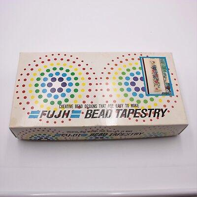 VTG  Wild Flower Fuji Bead Tapestry Crafts DIY Project (Fuji Flower)