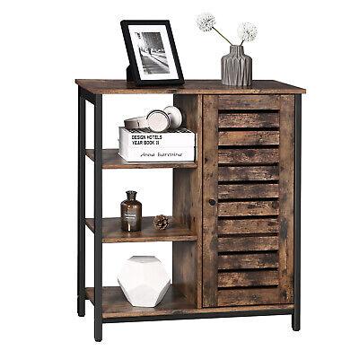 Vintage Storage Cabinet Floor Standing Cabinet Sideboard With 3 Shelves LSC74BX