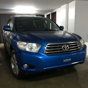 Toyota Highlander V6 AWD 2008 Sport Cuir Toit 7 passagers 8 mags