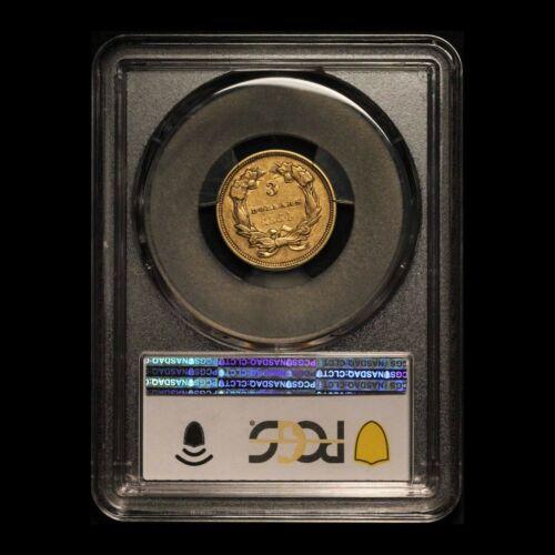 1854 $3 Gold Indian Princess PCGS XF 45 - Free Shipping USA