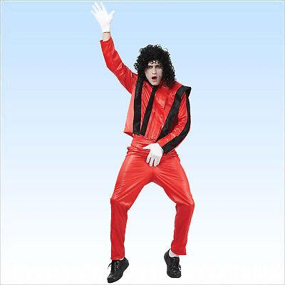 Kostüm Popstar Michael Gr. 52-54 Sänger Pop King Verkleidung Musik VIP - Sänger Kostüm