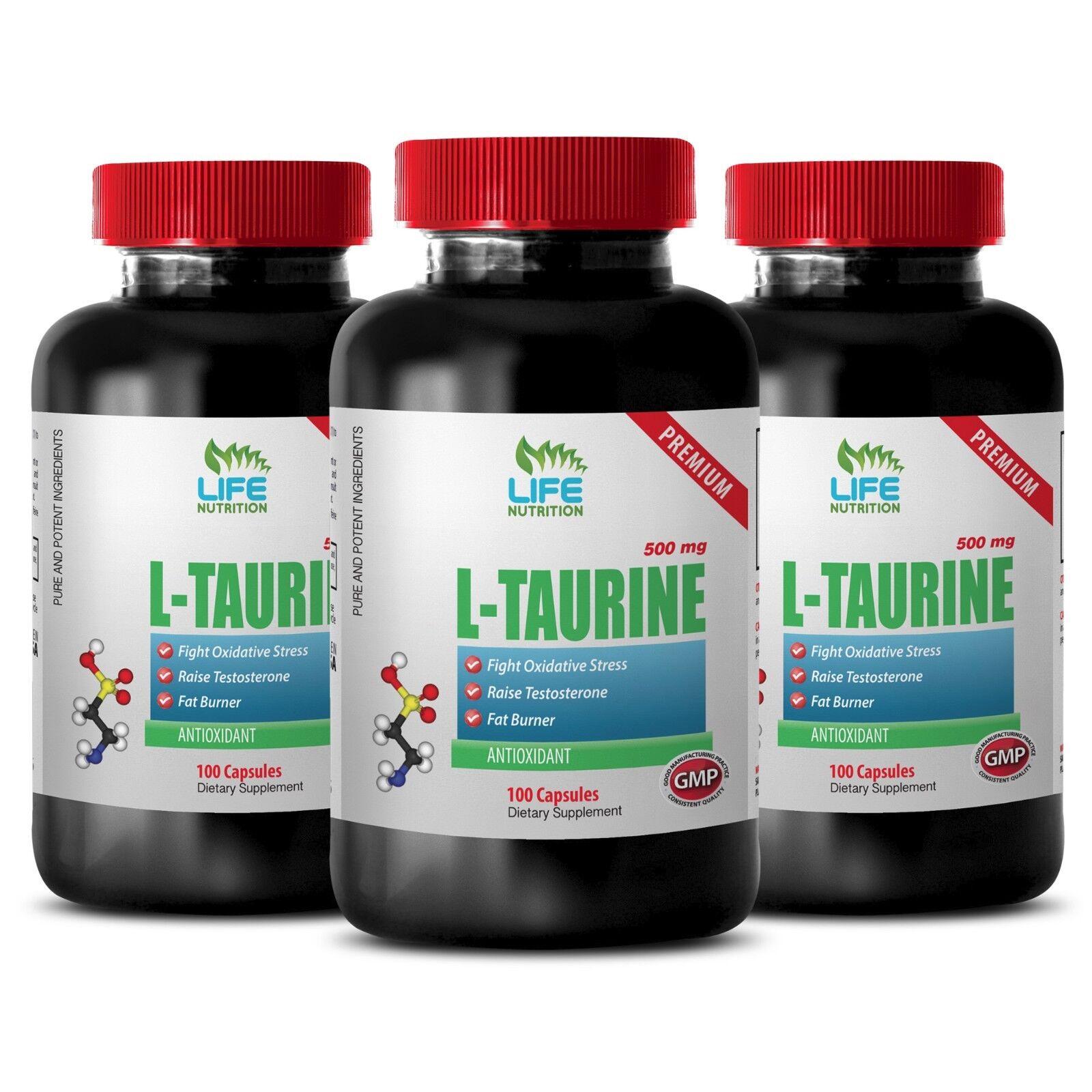 Muscle Milk Capsules - L-taurine 500mg 3b - Taurine Gaba ...