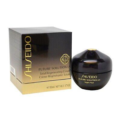 Shiseido Future Solution LX Total Regenerating Night Cream 50ML /1.7OZ SEALED