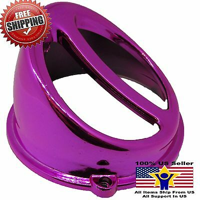 Chrome Fan Cover Air Scoop Cap For Motorcycle Scooter Gy6 50 125cc 150cc Pink