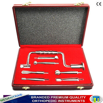 Premium Orthopedic Neurosurgery Kit Hudson Brace Hand Drill Surgical Instruments