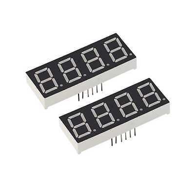 Led Display 7 Segment 0.56inch 4bits Red Light Ca Digital 5character Blocks 0.56