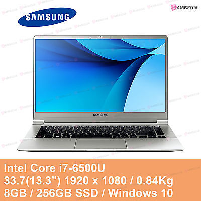 "SAMSUNG Notebook 9 NT900X3L-K78S 13.3"" 0.84Kg Core i7 6500U 8GB 256GB SSD Win 10"