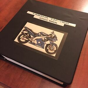 YAMAHA R6 service manual 1999-2004