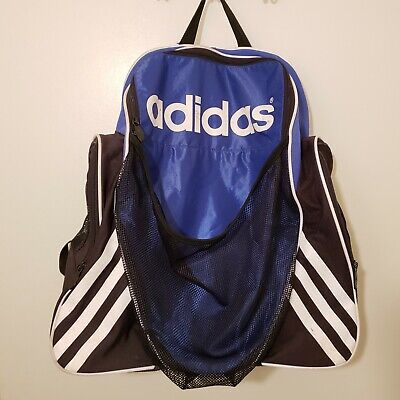 Adidas Mens Backpack Large School Bookbag Sports Travel Luggage Carry
