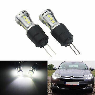 Peugeot 406 Blue LED /'Trade/' Wide Angle Side Light Beam Bulbs Pair Upgrade