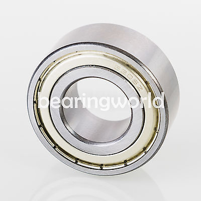 5200 Zz Double Row Shielded Angular Contact Bearing 10 X 30 X 14.3mm