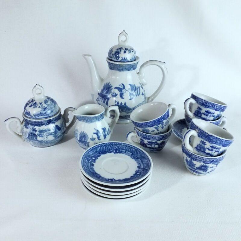 Victoria Ironstone Blue & White Chinoiserie Children