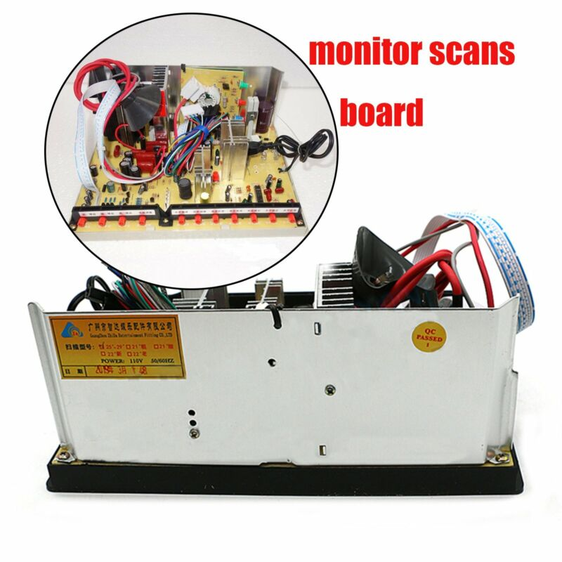 """Universal Replacement Arcade Monitor Chassis For 25"""" 27"""" 29"""" Crt Monitor"""