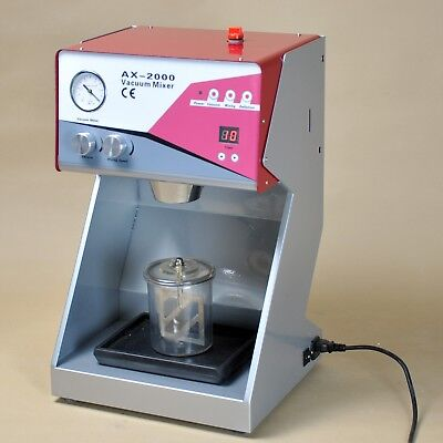 8mil Vacuum Mixer Dental Lab Equipment Built-in Pump Mixing Machine 110v Ce New