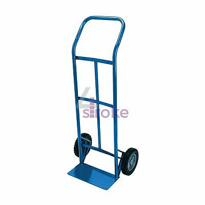 265lb Heavy Duty Sack Truck Industrial Hand Trolley With Pneumatic Tyre Wheel