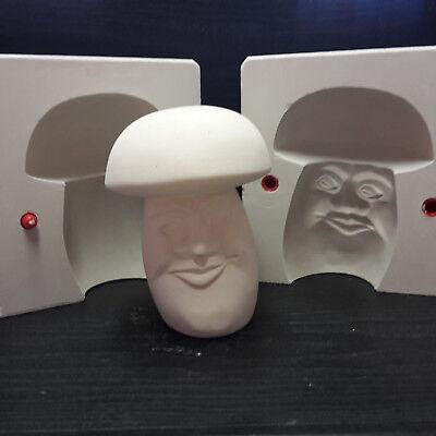 Gipsform Gießform für  Keramik  Pilz mit Gesicht Höhe 16 cm Nr. 271