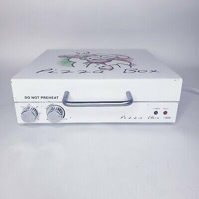 Cuizen Pizza Box Portable Rotating Oven Countertop 12 Pizza Makerpiz-4012 Read