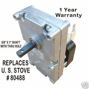 American Harvest Pellet Stove Auger Motor Xp7100 1 Rpm Ccw
