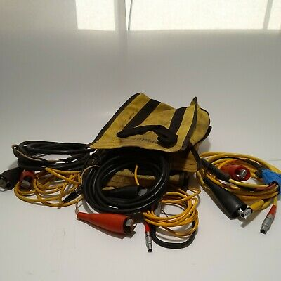 Trimble Trimark 3 12v Car Battery Charger Cable Adapter Cable Gps Survey 4000ssi