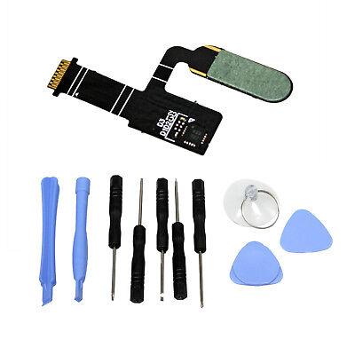New Home Button Fingerprint Sensor Flex Cable FOR HTC 10 Black Replacement Part