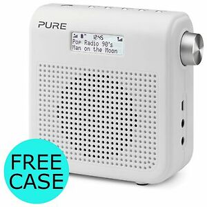 Pure One Mini Series II Compact Portable Digital DAB FM Radio White